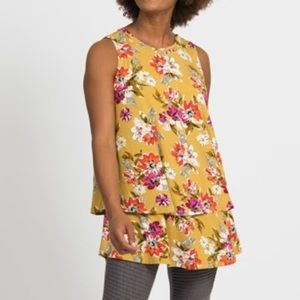 Agnes and Dora tiered tunic - organic girl